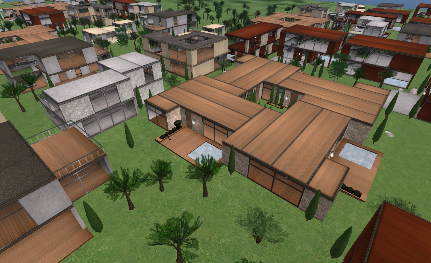 Looking at Linden Homes – Inara Pey: Living in a Modem World