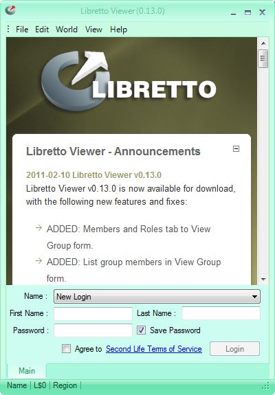Text clients reviewed 1: Libretto – Inara Pey: Living in a