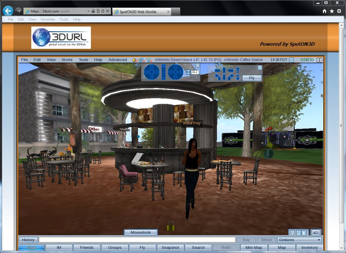 The Viewer as a browser plug-in – Inara Pey: Living in a Modem World