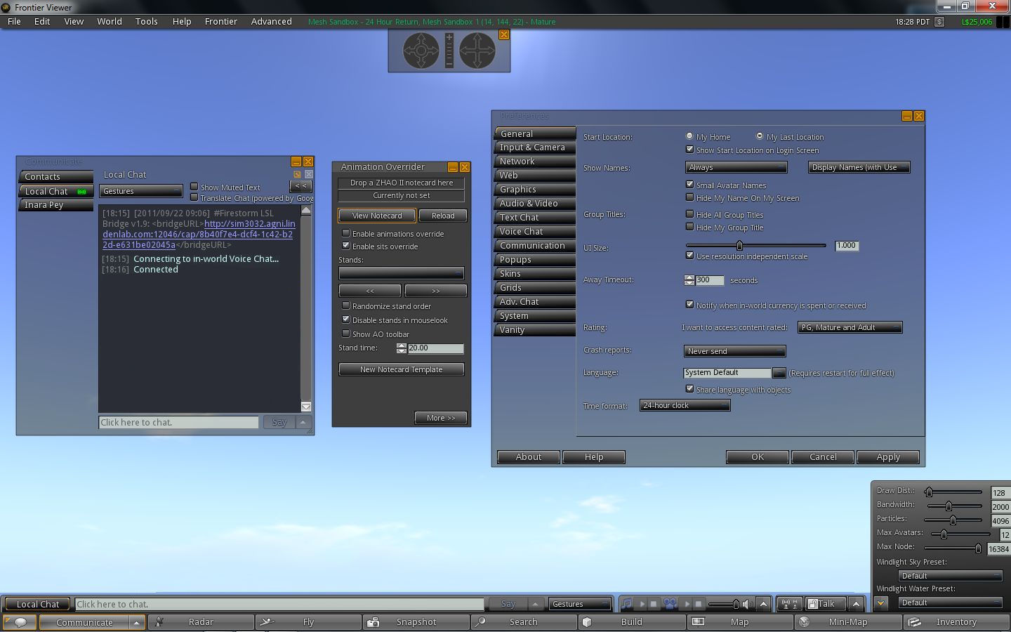 Second Life Copybot - Frontier Viewer Singularity with mesh