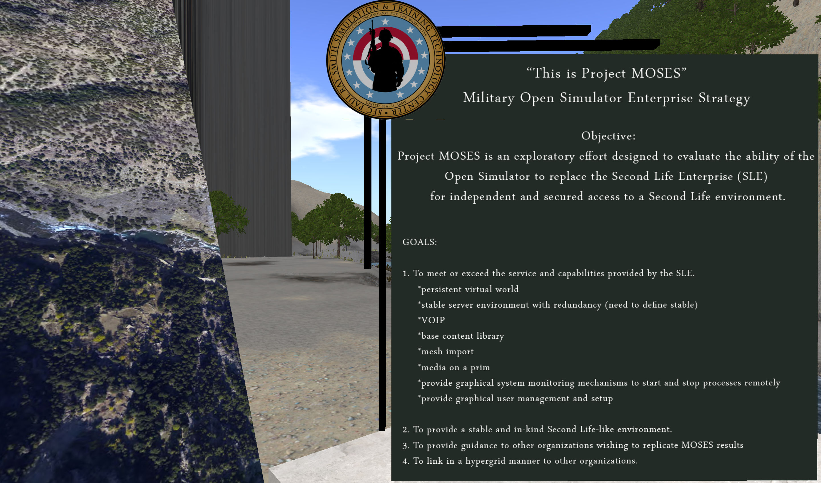 moses the us army u0027s opensim exercise u2013 inara pey living in a