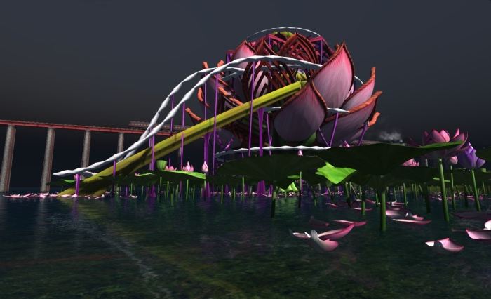 The beautiful Main Stage from SL9B - one of the many stunning builds from the 2012 celebrations