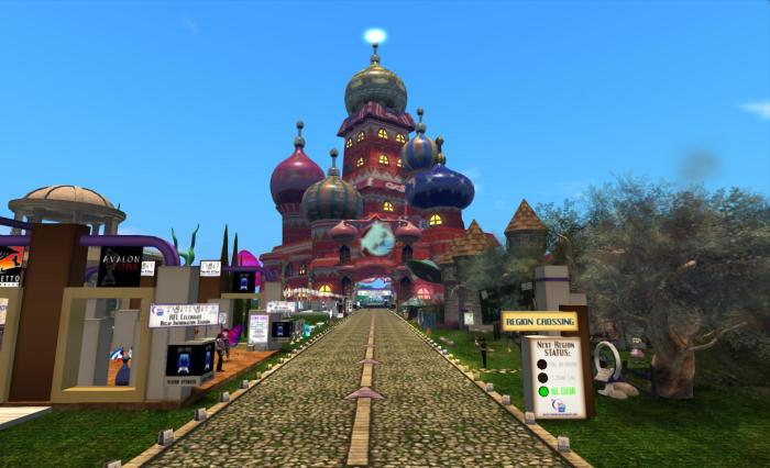 A look along the track from RFL SL 2012