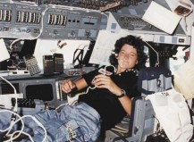 Sally Ride - first American woman in space. Credit: NASA