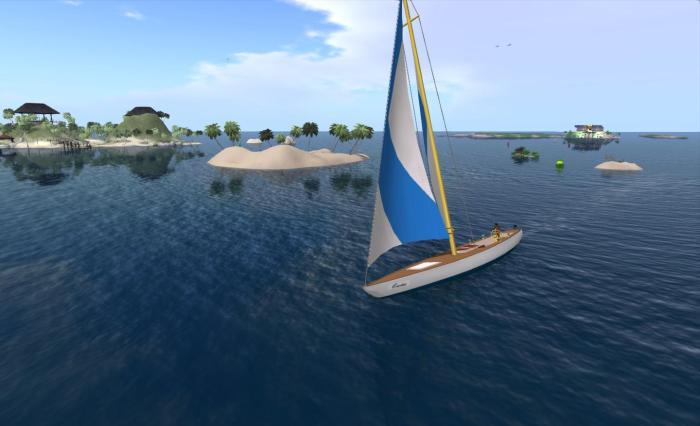 Enjoying my time sailing