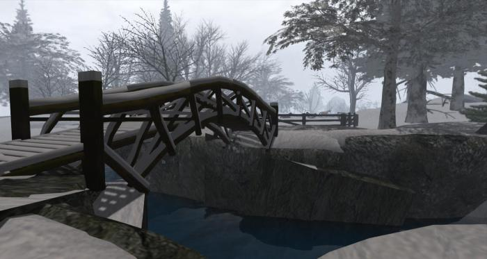 Calas Galadhon: Dimrill Dale in winter