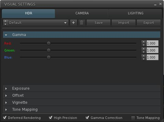 Gamma correction: from Exodus to the SL viewer in 2013