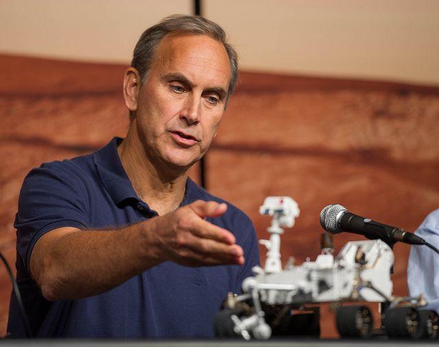MSL Principal Investigator John Grotzinger