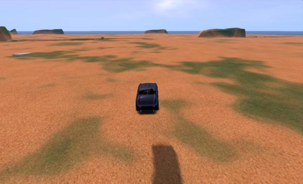 Crossing between threaded regions in a vehicle: some improvements, but not a lot