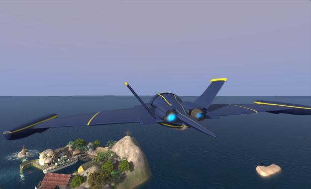 Terra Stingray: great fun flying