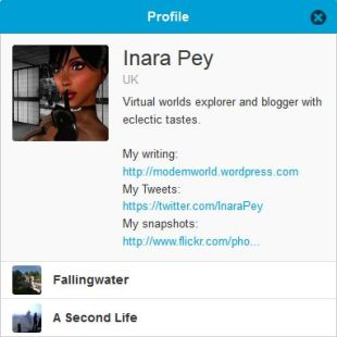 My dio profile
