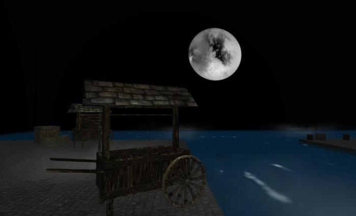 The Moon: a focus of