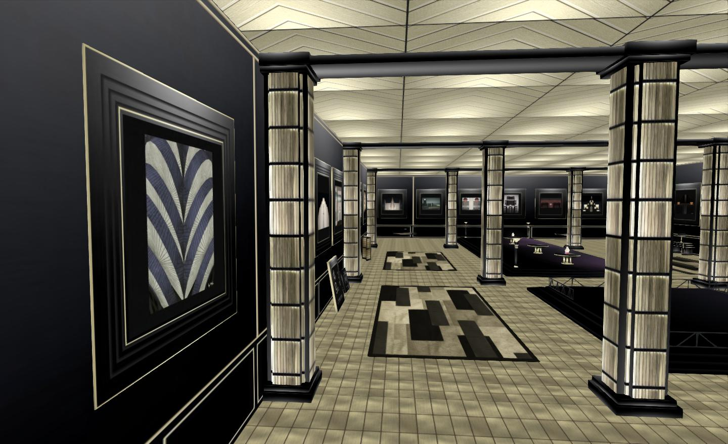 art deco sl style inara pey living in a modem world. Black Bedroom Furniture Sets. Home Design Ideas