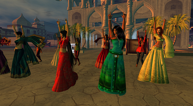 OBR music video recording (image courtesy of One Billion Rising In SL /