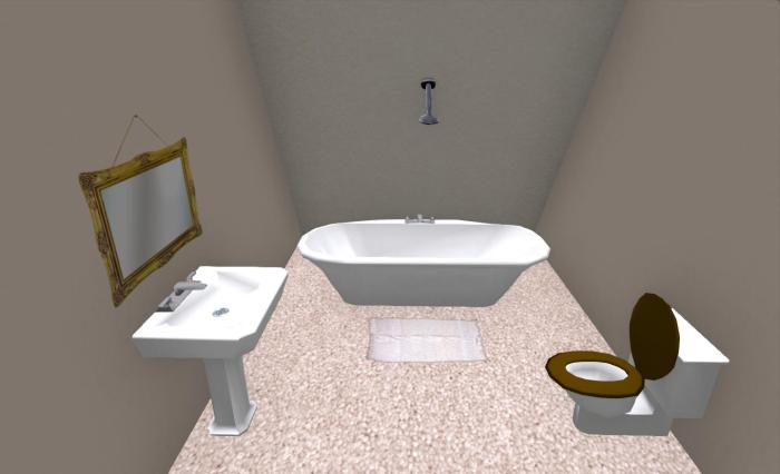 The PrimPossible 2-prim bathroom suite