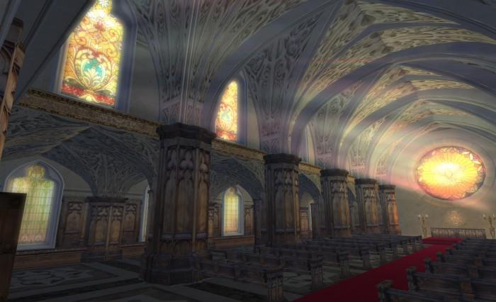 Angel Manor - the Chapel