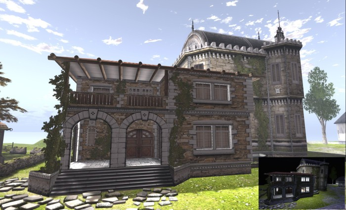 """The LAQ Decor Spanish """"castle"""" villa."""
