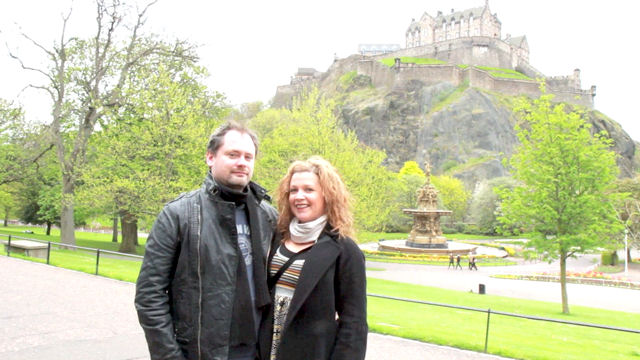 Abramelin and his wife in Edinburgh