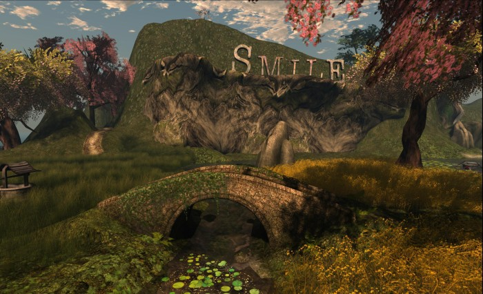 It All Starts With a Smile - one of the regions participating in the SL10B by Us art event throughout June