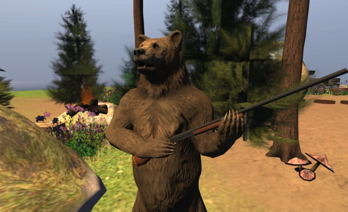 I have a little fun with the Bear avatar, following Crap Mariner's lead