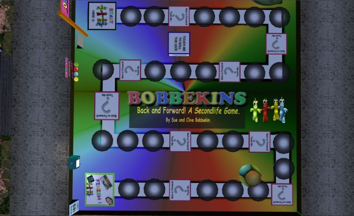 The bobbekins Back and Forward Game