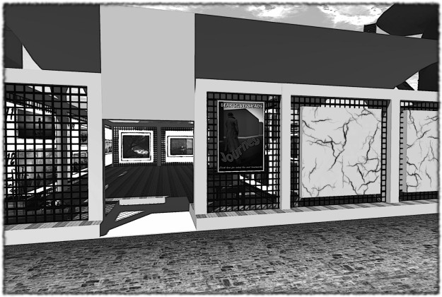A black and white homage to Bear Silvershade's Journey exhibit at SL10BCC seemed appropriate...