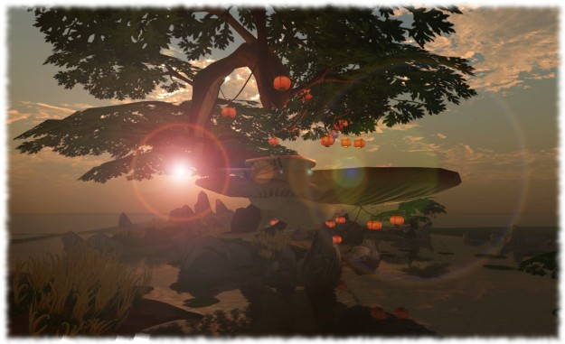 The SL10B Community Celebration Lake Stage by Kazuhiro Aridian