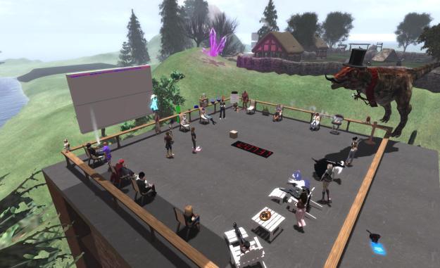 A typical Simulator UG meeting (stock)