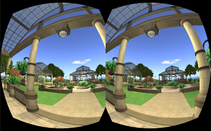 Using Oculus Rift on the (no longer maintained) CtrlAltStudio viewer - courtesy of Dave Rowe