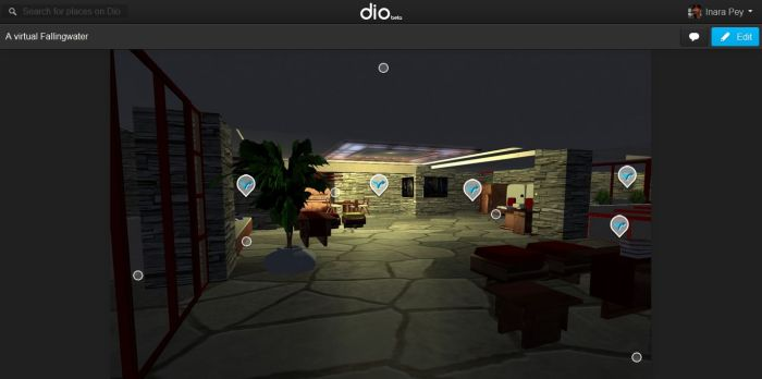 An example of a scene with lots of hotspots