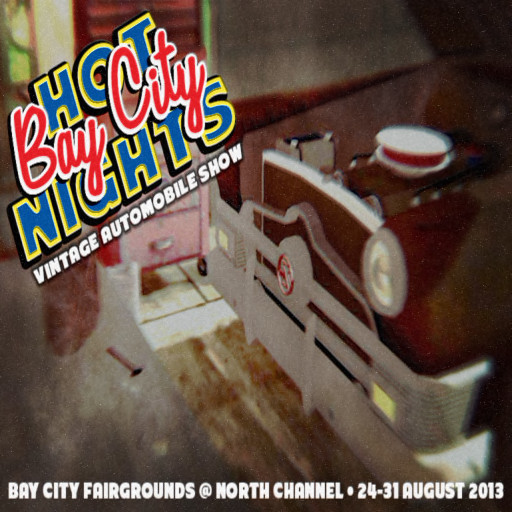Hot Bay City Nights Poster 2013