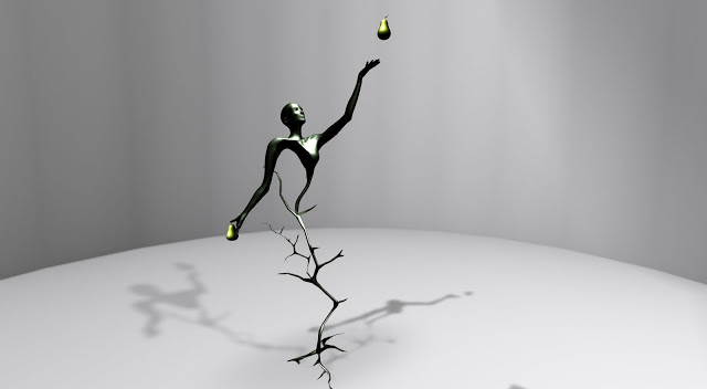 Fruit of Time by Rebeca Bashly, one of my personal choices in the 3D Art Challenge