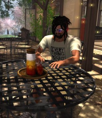 Darx as we see him in Second Life
