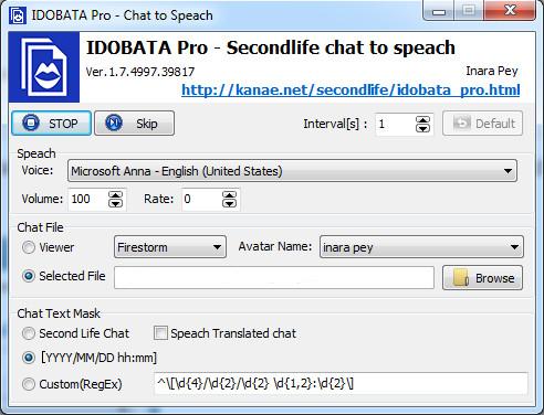 Idobata: text chat-to-speech