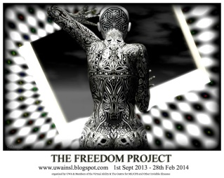 The Freedom Project, one of many community-focused activities undertaken by the UWA within Second Life