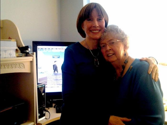 Barbara and Fran
