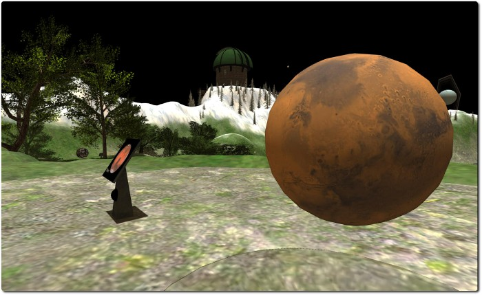 Mars, Oceania Planetary Park