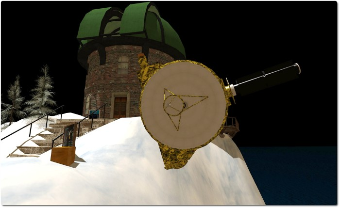 NASA's New Horizons Pluto (and beyond) mission, and the Oceania Planetary Park observatory