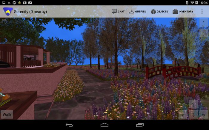 Lumiya offers an excellent means to access Second Life on an Android device - see the coverage in this blog