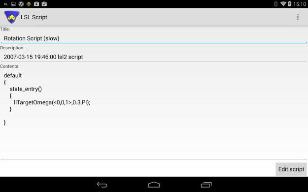 Lumiya 2.5.7+: viewing and editing your scripts