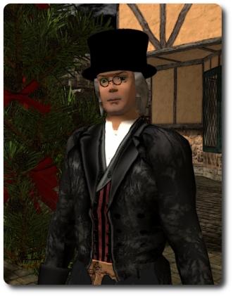 Shandon Loring reprises his role as Ebenezer Scrooge