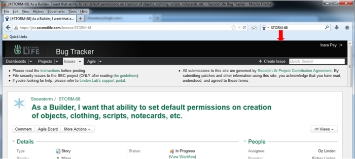 ... Or check on a JIRA (subject to JIRA viewing permissions), and more, using the Firefox Search Helpers