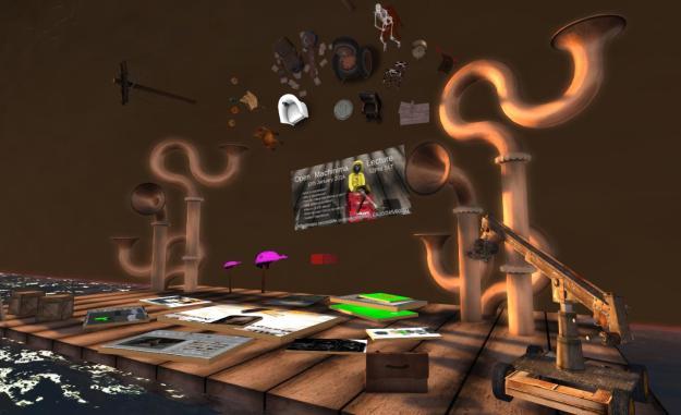 """""""Lights, camera ..."""" The workshop area"""