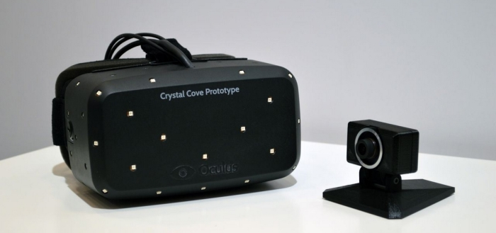 The Oculus Rift Crystal Cover prototype
