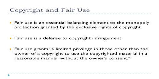 AF-003 Copyright Fair UseSlide
