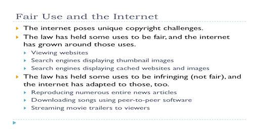 AF-009 Fair Use-Internet