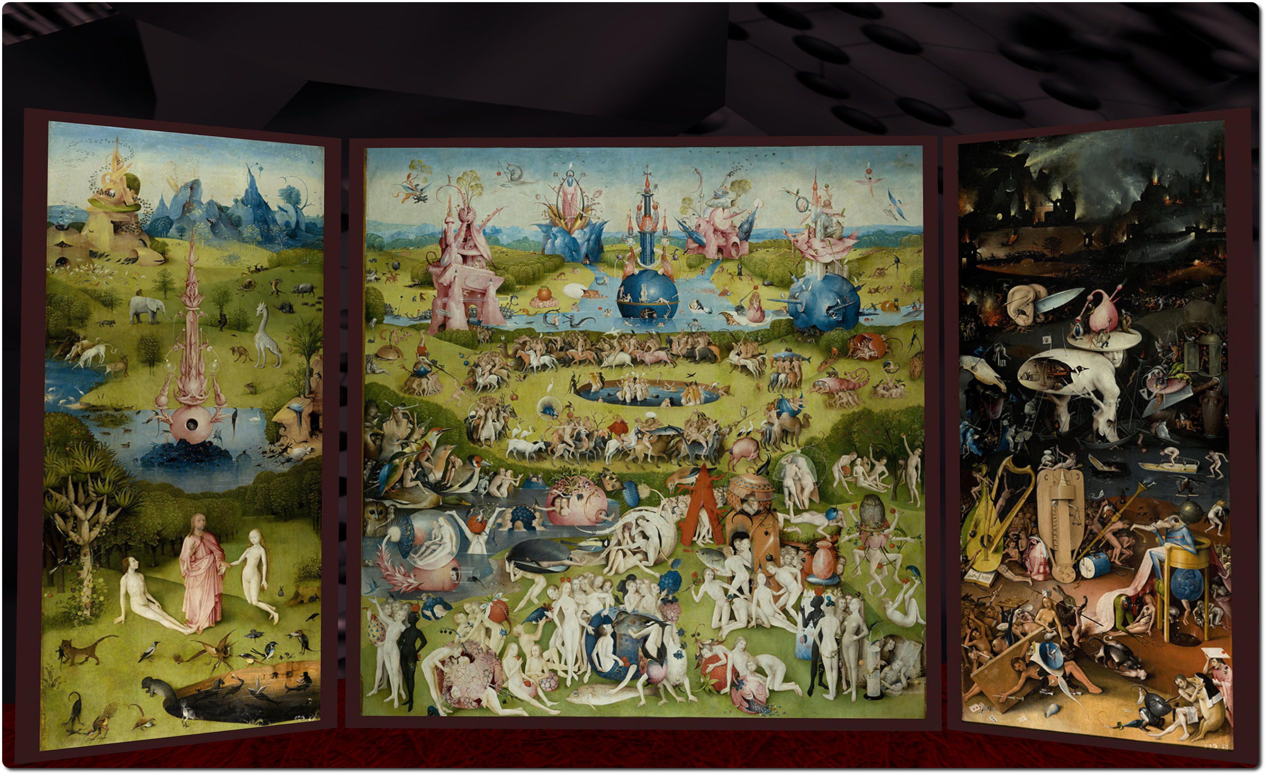 Slipping inside the mind of Hieronymus Bosch Inara Pey Living