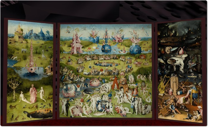 The Garden of Earthly Delights, LEA 12, March 2014