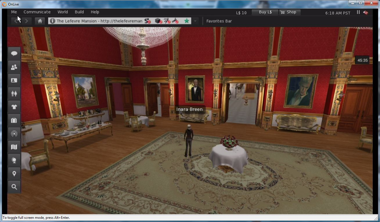SL Go: Second Life on a tablet, on the move and more – Inara