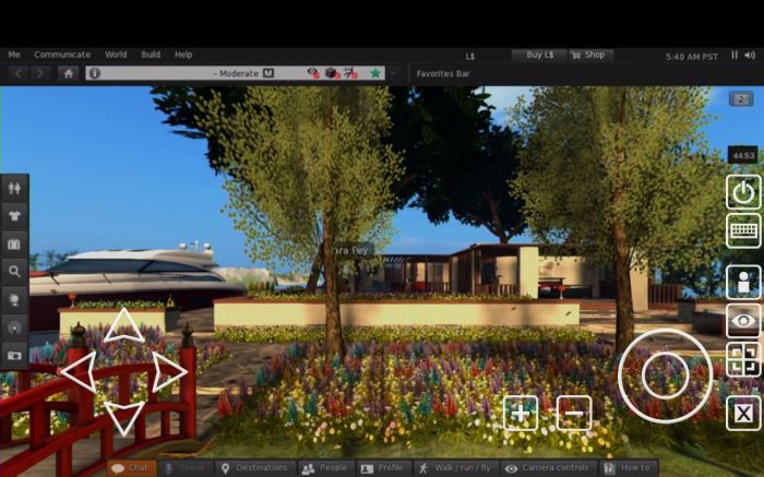 SL Go by OnLive: the full functionality of Second Life as seen on a Nexus HD 2013